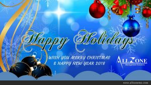 Allzone Wishes Happy Holidays