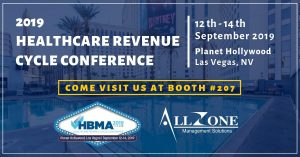 Allzone Management Solutions – HBMA 2019 Healthcare Revenue Cycle Conference